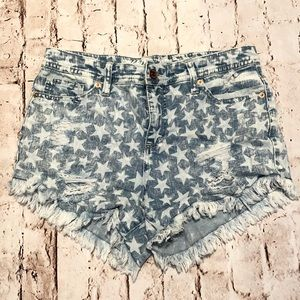 Mossimo High rise Star Shorts 6/28